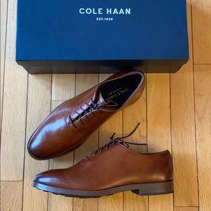 NWT Cole Haan Men's Jefferson Grand OS Oxford Shoe